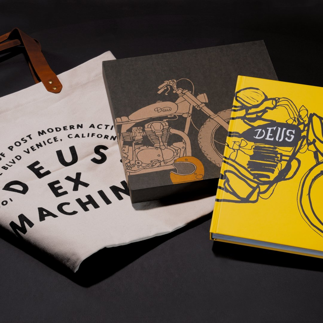 ORDER NOW AND GET A DEUS COFFEE TABLE BOOK AND A UNIQUE CANVAS  TOTE BAG