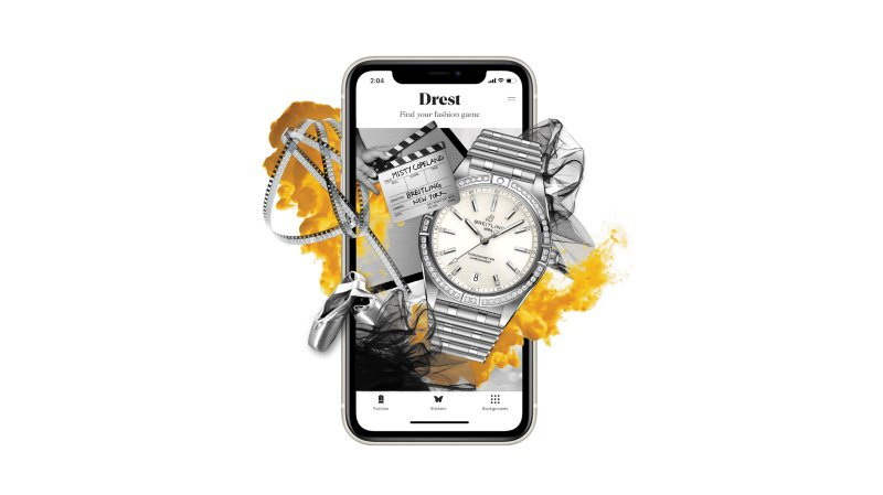 Breitling Announces Partnership with DREST and Embraces the Interactive World of Luxury Fashion