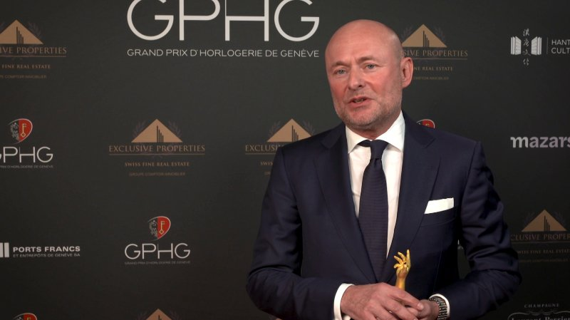 BREITLING CLAIMS TWO PRIZES AT THE 20TH GRAND PRIX D'HORLOGERIE DE GENÈVE (GPHG) AWARDS
