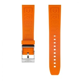Orange Diver Pro rubber strap - 22 mm