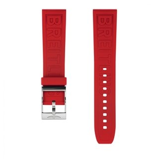 Red Diver Pro rubber strap - 22 mm