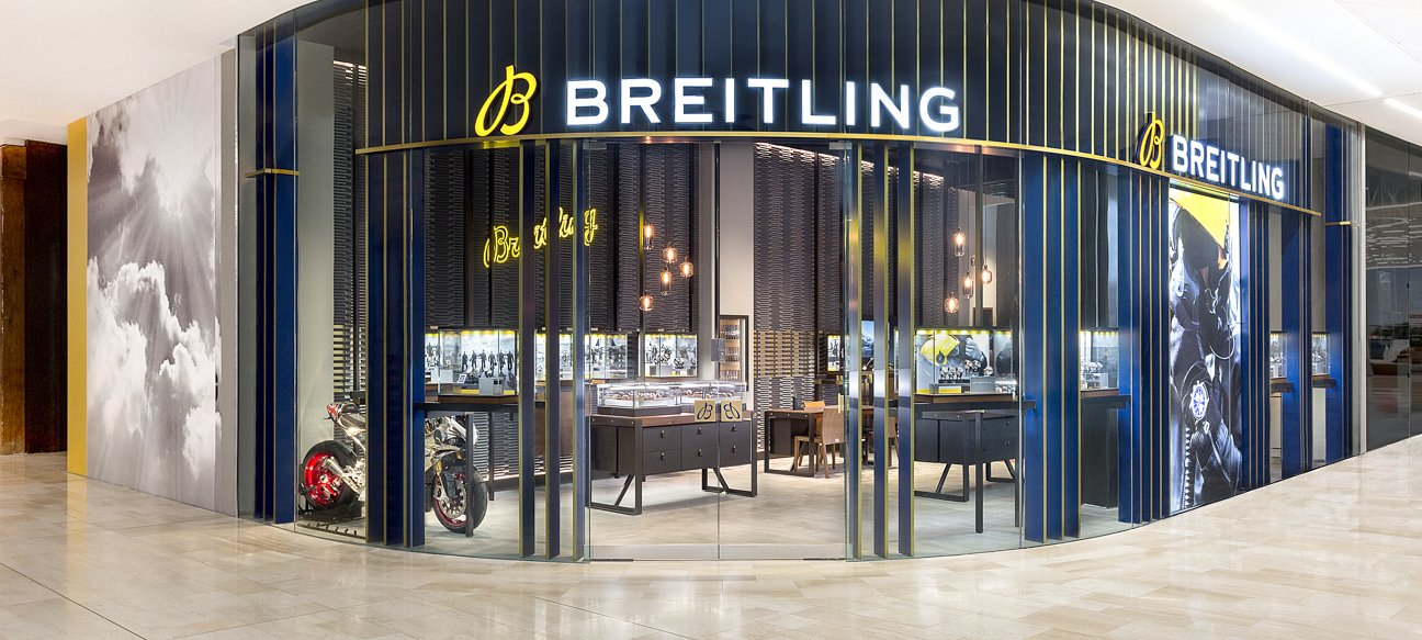 Breitling Store, White City, Westfield, London