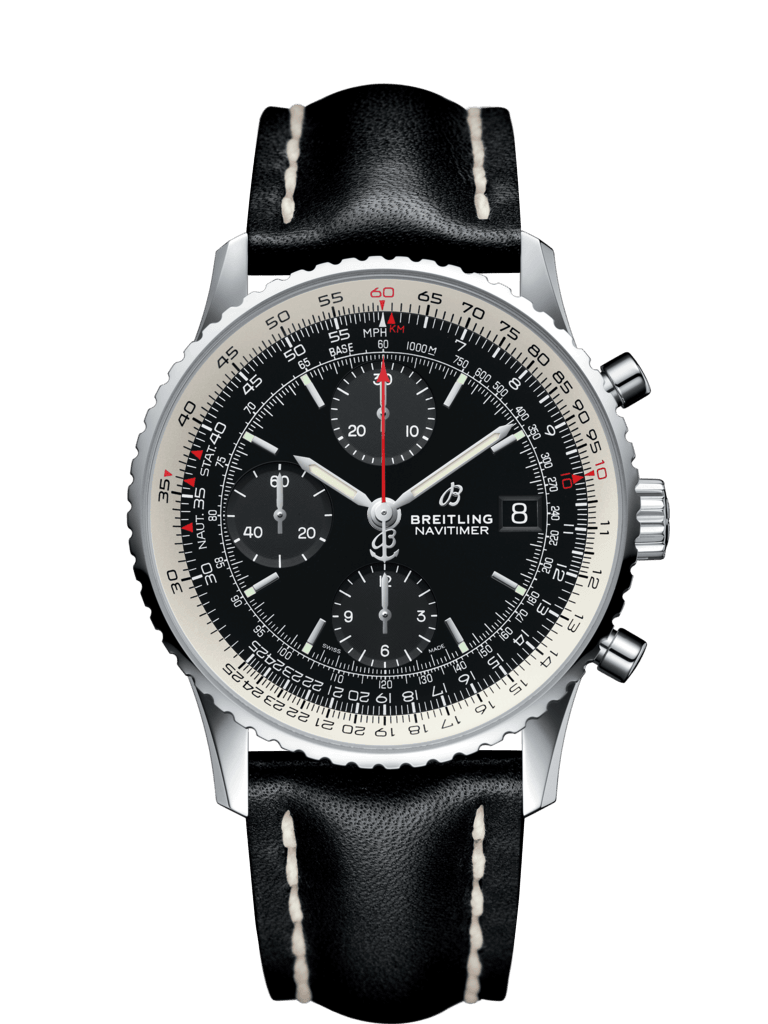 Navitimer 1 Chronograph 41 Black Leather A13324121B1X1