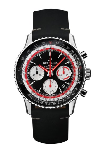 Navitimer 1 B01 Chronograph 43 Airline Edition - Swiss Air - AB01211B1B1X1