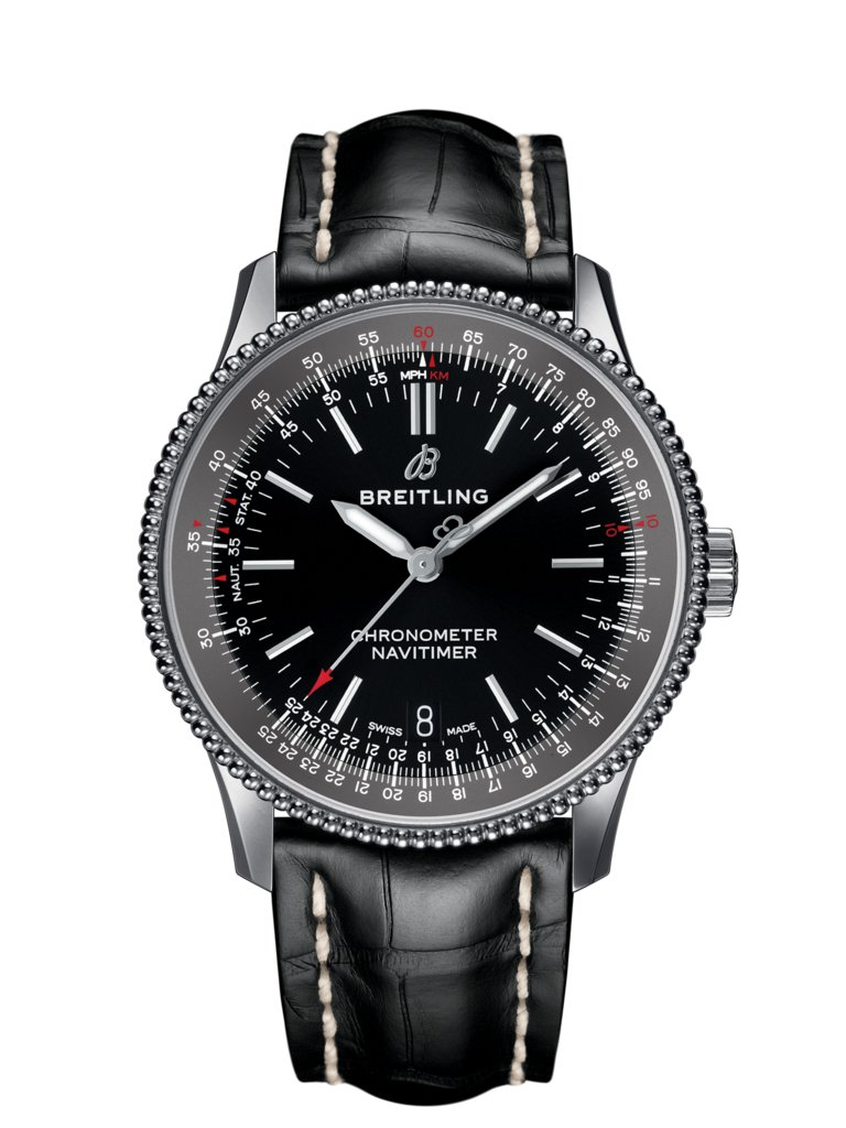 Navitimer Automatic 38 Steel Black A17325241b1p1 Breitling