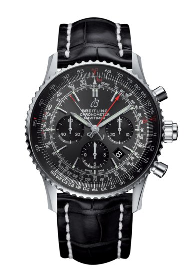 Navitimer 1 B03 Chronograph Rattrapante 45 Stratos Grey Boutique Edition - AB03102A1F1P1