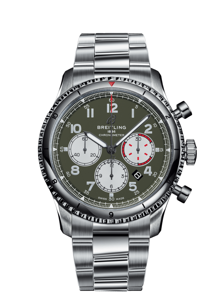 Aviator 8 B01 Chronograph 43 Curtiss Warhawk - AB01192A1L1A1