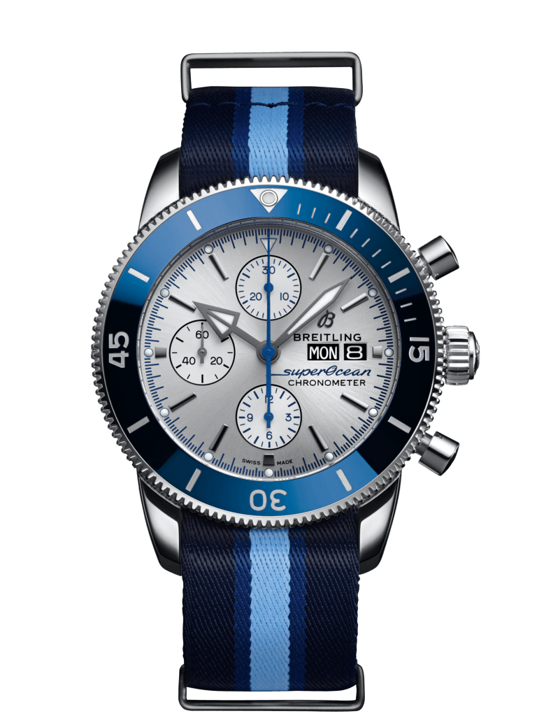 Superocean Heritage II Chronograph 44 Ocean Conservancy Limited Edition - A133131A1G1W1