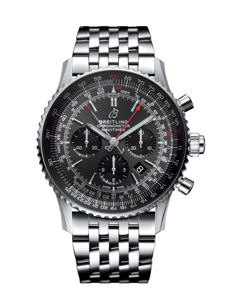 Navitimer B03 Chronograph Rattrapante 45 Boutique Edition - AB03102A1F1A1