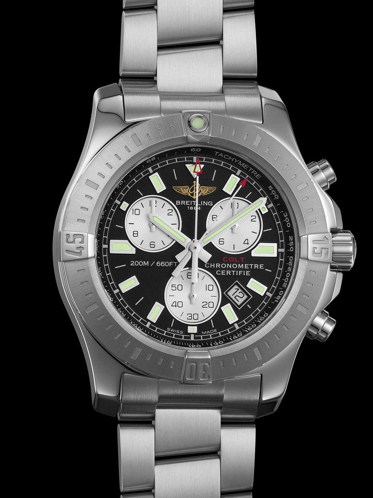 timezone breitling breitling colt chrono tachymeter scale. Black Bedroom Furniture Sets. Home Design Ideas